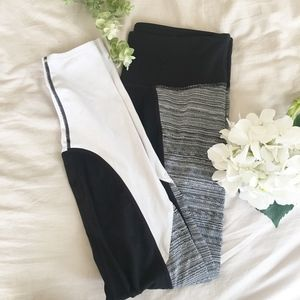 ATHLETA Tricolor leggings